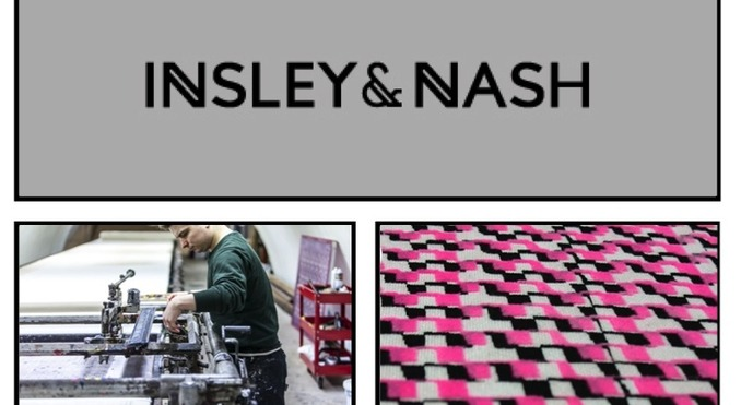 Utelier Designer Interview with Insley & Nash printing specialists