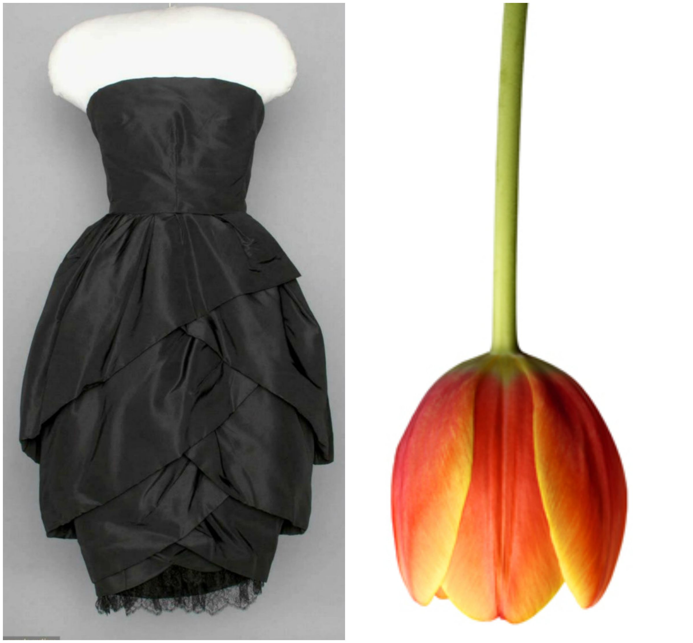 Christian Dior Tulip dress haute couture