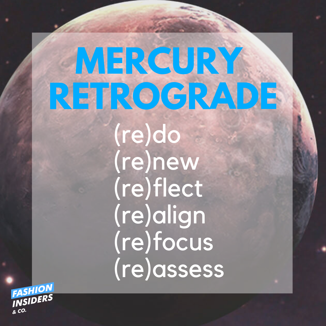 5 Tips On How Mercury Retrograde Can Work for Your Creative