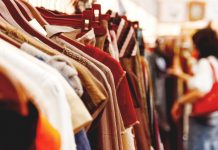 excess stock fashion rail sale