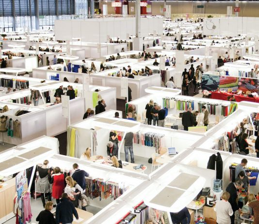 sourcng materials at fashion trade shows