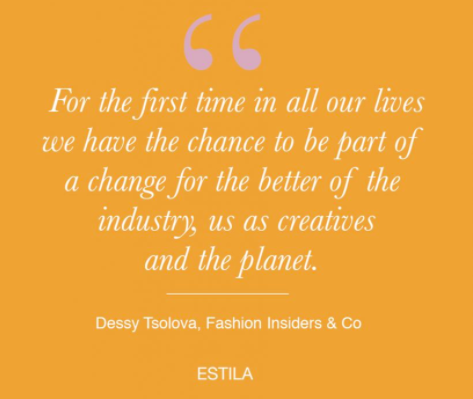 future of the fashion industry estila magazine interview